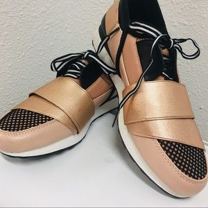 { a new day } rose gold shoes | sneakers